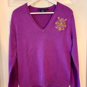 Polo Ralph Lauren Cotton V-Neck Sweater